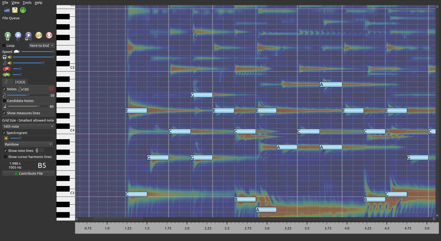 Anthemscore Music Transcription Software